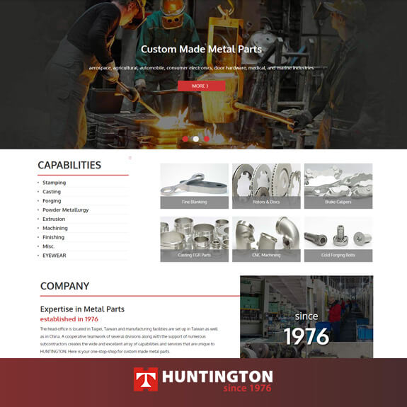 Huntington Metal Parts