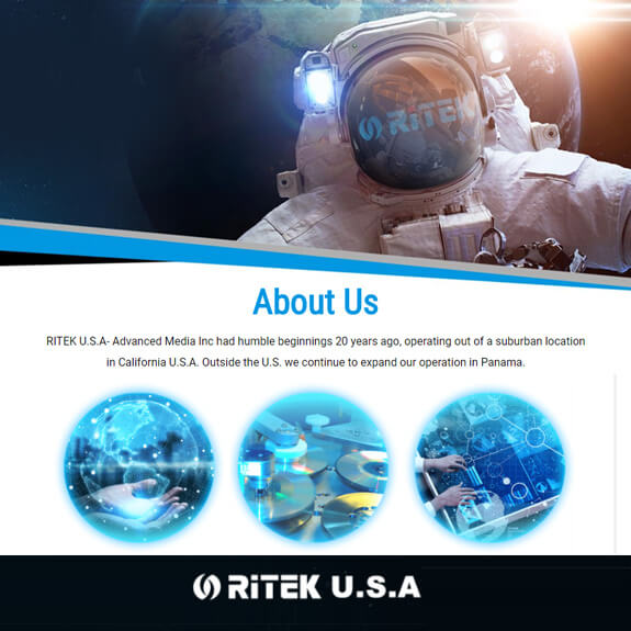 RITEK U.S.A Advance Media Inc